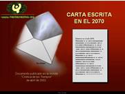 AGUA Carta 2070